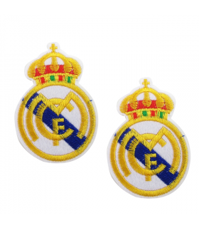 PARCHE BORDADO REAL MADRID 75*55MM