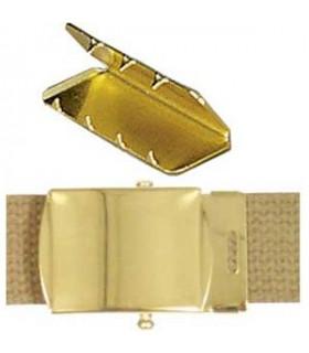 Hebilla cinturón dorada 32mm