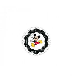 Mickey Lunares Negros