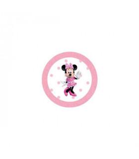 Minnie Lunares Rosa Grande