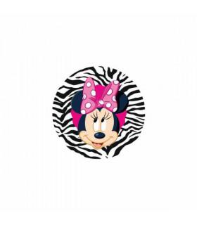 Minnie Lazo Rosa Zebra