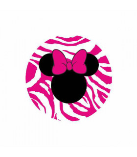 Minnie Zebra Fucsia