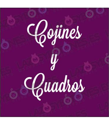 COJINES Y CUADROS