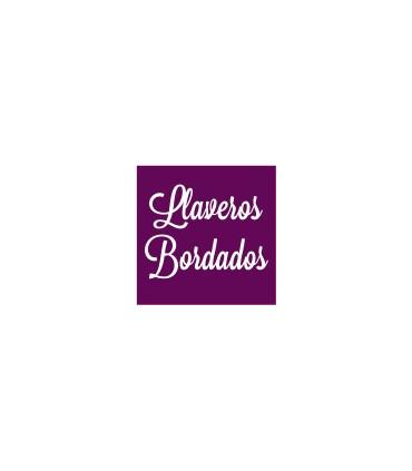 LLAVEROS BORDADOS
