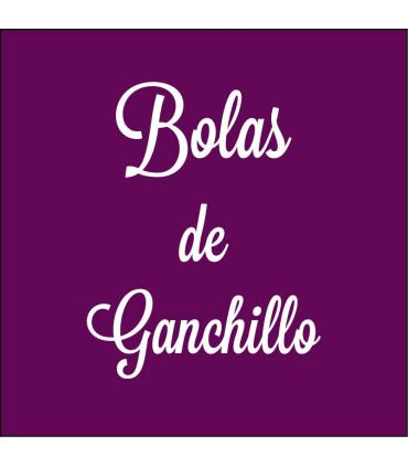 BOLAS DE GANCHILLO