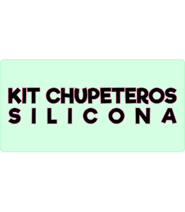KIT CHUPETEROS SILICONA