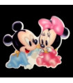 Minnie & Mickey Baby 29*37MM