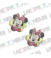 PACK DE 3 RESINAS RESINA MINNIE GLITTER 33*28MM