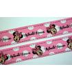 Minnie Mouse Rosa con Lunares Grandes 25mm